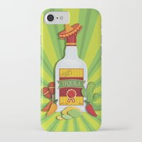 tequila iPhone & iPod Cases featuring Tequila Time by Matt Andrews