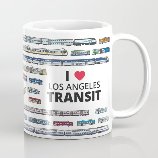 The Transit of Greater Los Angeles Mug