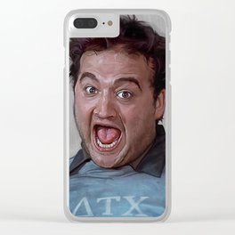 Food Fight At Delta Tau Chi With Bluto Clear iPhone Case