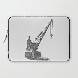 Railroad crane Laptop Sleeve