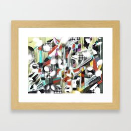 Vagueness Framed Art Print
