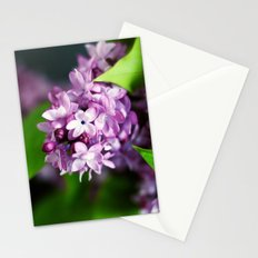 fresh lilacs Stationery Cards