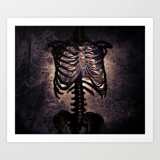Open Hearts Art Print