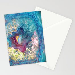 425 26 Abalone Geode Stationery Cards