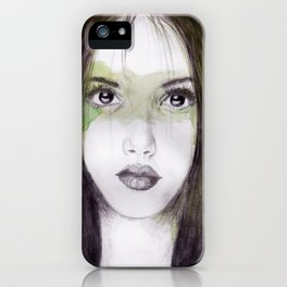 And who gives a damn right now iPhone Case