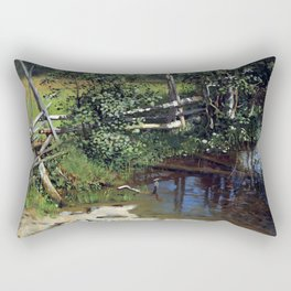 Christian Skredsvig The Tarn Rectangular Pillow