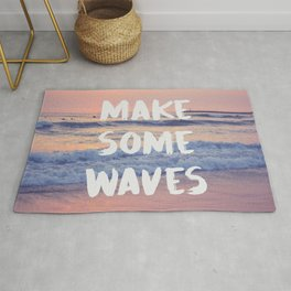 Make Some Waves Rug
