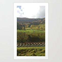 Lough Finn, Ireland Art Print