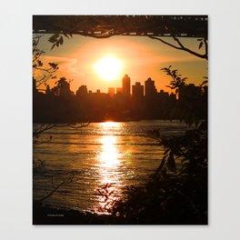 SNEAK PEEK MANHATTAN NYC Canvas Print