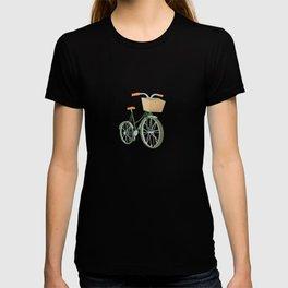 Bike with Basket T-shirt