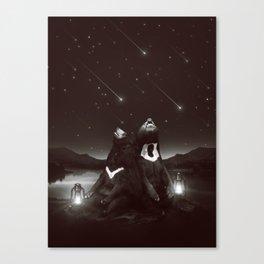 my sun, my moon, and all my stars Canvas Print