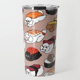 Sushi Poodle Travel Mug