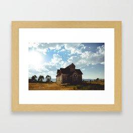Bear Lake Idaho Church Framed Art Print