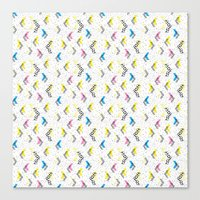 jem Canvas Prints featuring Jem 1 by Kukka