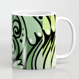 Lush Green Doodle Coffee Mug