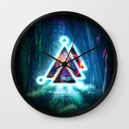 Prisma Delta Illumination Wall Clock
