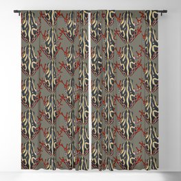 congo tree frog Blackout Curtain