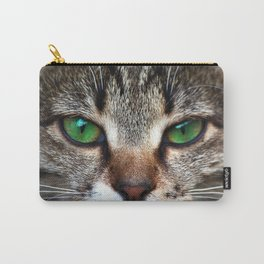 Staring Cat Carry-All Pouch