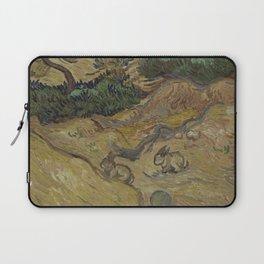 Landscape with Rabbits Laptop Sleeve