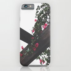 Wooden & Flowers iPhone 6s Slim Case