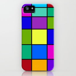 Abstract #6 iPhone Case