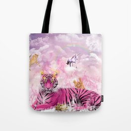 Kitty Queen Tote Bag