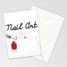 Nail Art Stationery Cards