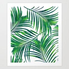 Palm Paradise #society6 #decor #buyart Art Print