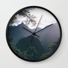 Incan Trail Wall Clock