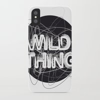 the thing iPhone & iPod Cases featuring Wild Thing by feigenherz BAM