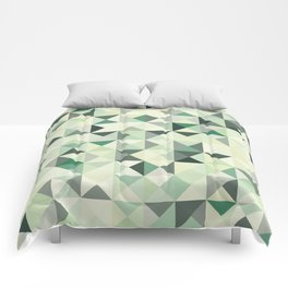 colorful Triangles 2 Comforters