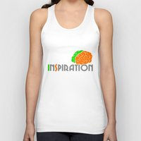 inspiration Tank Tops featuring Inspiration by Todd Trotter