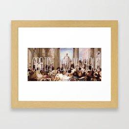 Graine de Voyou Framed Art Print