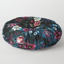 NIGHT GARDEN XI Floor Pillow