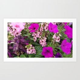 Purple Blend Art Print