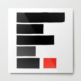 Redacted Metal Print
