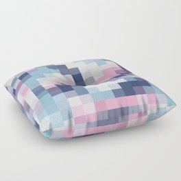 Mat Map Squares Floor Pillow
