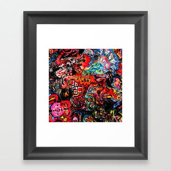 Rupture Rapture Framed Art Print
