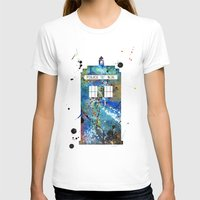 tardis T-shirts featuring Tardis by Beth Naeyaert