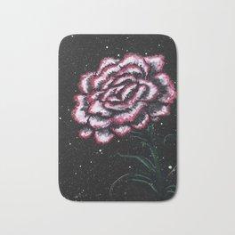 Pink Carnation Painting Bath Mat