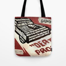 Deathproof redux Tote Bag