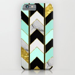Chevron Lights iPhone Case