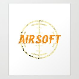 Airsoft Popgun  Air Cannons  Pneumatic Pellet Gun  Art Print