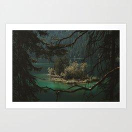 Framed by Nature - Landscape Photography Art Print