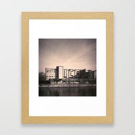 ICH Framed Art Print