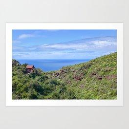 Little House on La Palma Art Print