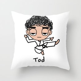 Kung Fu Tod Throw Pillow