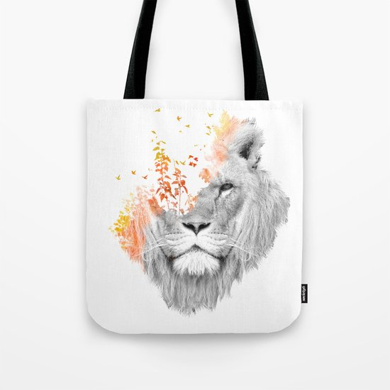 If I roar (The King Lion) Tote Bag