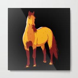 Wild Horse Metal Print