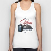 doctor who Tank Tops featuring Doctor Who  by thatfandomshop